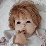 Авторская, озорная куколка
