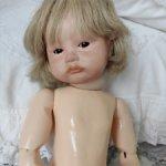 Авторская реплика характерной антикварной куклы
