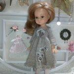 Платье для куклы Паола Рейна Мини, мини Паолы