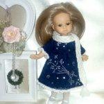 """Платье для мини Паолы, Паола Рейна мини, Хелен Киш  """"Маленький принц°"""