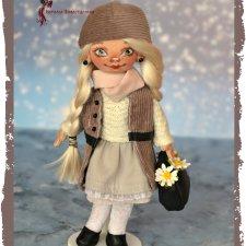 Текстильная авторская куколка