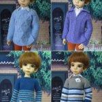 Джемперы для мальчиков и девочек МСД от Kaye Wiggs и др.