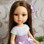 Наряд с обувью для куколок Paola Reina