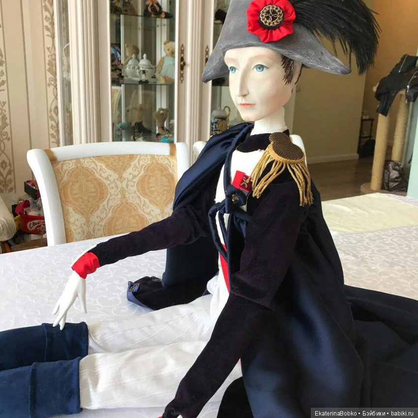 Наполеон. Подвижная кукла, 95см