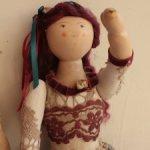 Авторские куклы в технике «грунтованный текстиль»