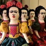 Фрида. Интерьерная кукла