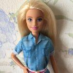 Барби блондинка