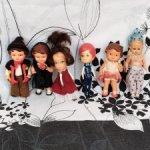 Шесть отважных кукольных персонажей