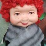 Смешнючая американская мамзель из 1960 года!! Полторы куклы по цене одной!!!!
