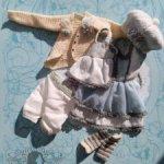 Комплект одежды для куклы Флоры от Fairy tale doll