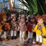 ВЕСЕННЯЯ РАСПРОДАЖА! Вязаный комплект из 4 предметов для кукол Паола Рейна