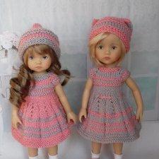 """Платье для куклы Дианы Эффнер Boneka 10"""""""