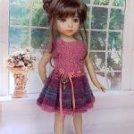 Платье для куклы Дианы Эффнер, Паола Рейна, Хуан Антонио