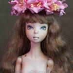Фарфоровая кукла София от Ольги Быкадоровой
