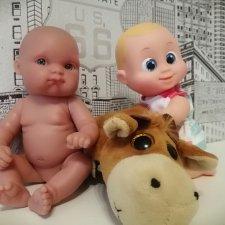 Лот игрушек:Пеппита от Антонио Хуан+малыш Бониэль с мягким  другом!