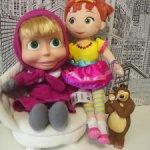 Лот игрушек! Неси-Фенси от Disney+Маша от симба +медведь!