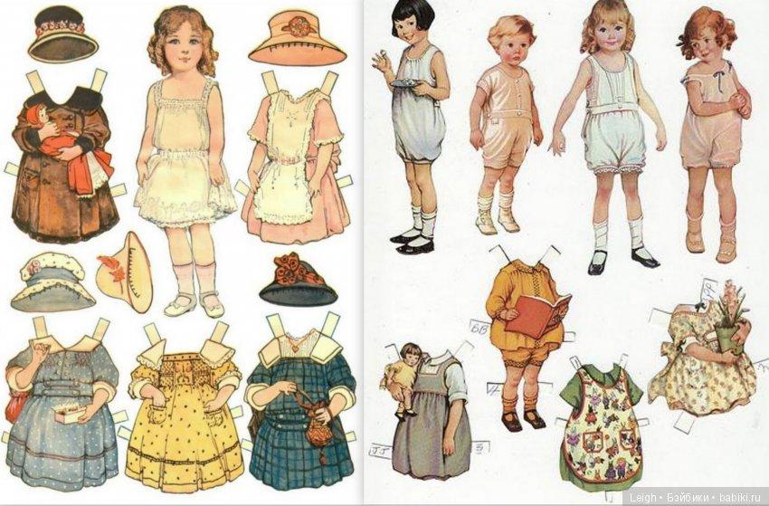 paper dolls - HD2860×1880
