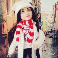 Городская девчонка. ООАК куклы от МС2