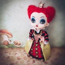 """Капризуля Ирацибета. Моя маленькая красная королева. ООАК по мотивам """"Алисы в Стране Чудес"""""""