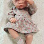 Комплект с туникой из четырех предметов для реборнов и аналогичных кукол 42-47 см