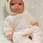 Велюровые комбинезоны для куклы Пепиты (20-23 см)