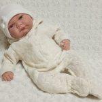 Комбинезон для кукол 41-45 см+ шапочка