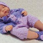 Комплект вязаный для кукол 40-47 см