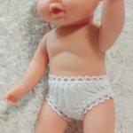 Трусики для кукол с ОБ 18-24 см
