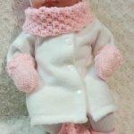 Набор одежды из шести предметов для кукол 41-47 см
