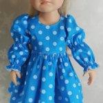 Платье для куклы Готц Little Kidz, 36 см