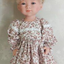 Платье для куклы Готц Little Kidz и аналолгичных куколок