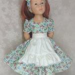 Комплект с платьем для  Готц и аналогичных куколок