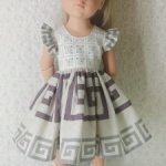 Платье для куколки Готц 50 см