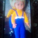 Кукла ГДР с зубками