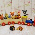 Деревянные игрушки для кукол
