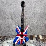 Гитара с британским флагом