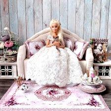 """Коллекция ковров и подушек """"Нежность"""" в сиреневом цвете"""