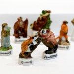 Животные, миниатюра, фарфор, часть 2