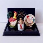 Петушки, миниатюра Reutter Porzellan