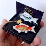 Красный окунь на рыбной тарелке Reutter Porzellan