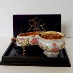 Золотые вазы Reutter Porzellan