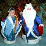 Дед Мороз и Снегурочка. Подарочный набор в коробке.