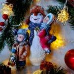 """Набор ватных игрушек """"Мой любимый Снеговик""""."""