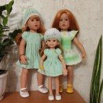 3 платья для кукол