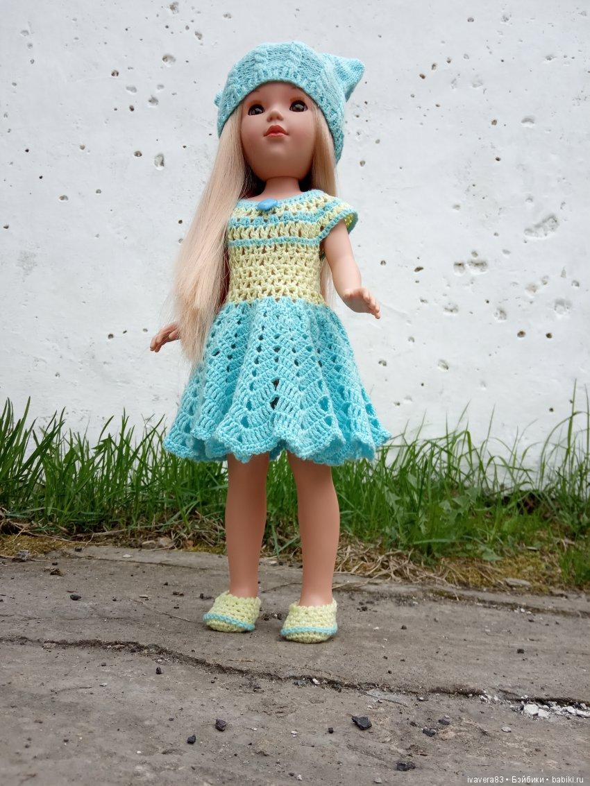 вязание крючком для кукол Мари Видал Рохас