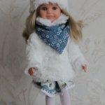комплект одежды для кукол Паола Рейна Зима2