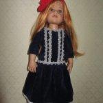 Платье для кукол Готц и им подобным
