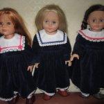 Платья для кукол Готц и им подобным