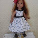 Наряд для куклы Готц и ей подобным.
