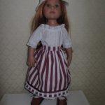 Юбка для куклы Готц.